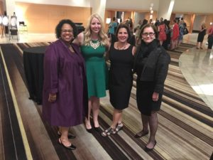 Vicki Clark, Meagan Avery, Karis Boerner and Susan Danish at 2016 AJLI Annual Conference