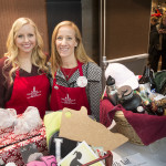 Megan Avery and Tracy Morton, Junior League of Duluth members, at Festival of Trees 2015