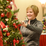 Tree decorating for Festival of Trees 2015