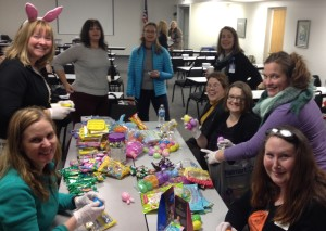 Making Easter Baskets for Meals-on-Wheels Recipients (2016)